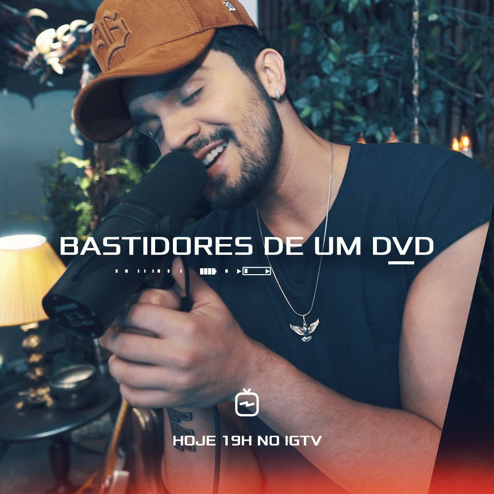 "RT @luansantana: Hoje! Episódio 5 #SerieLuanIGTV ""Bastidores de um DVD"" https://t.co/Ctdp0Ng4Y0"