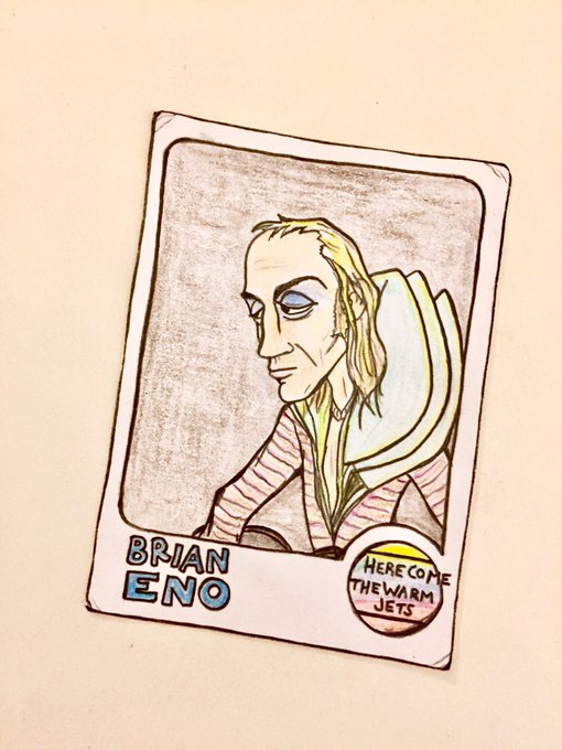Happy birthday, Brian Eno!