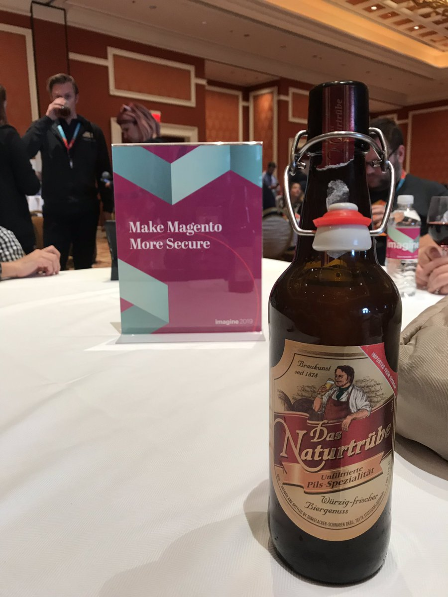 _Talesh: We're starting to talk about something important at #MagentoImagine DevExchange. nn#EXCUSEtheBeer https://t.co/pdGrszQd8r