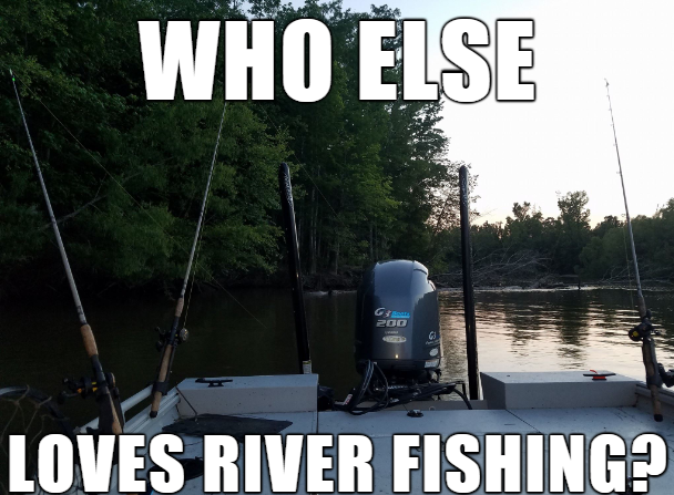 Who else love river fishing? #bassfishing  #<b>Outdoors</b> #fishingaddict #carpfishing #fishinglife