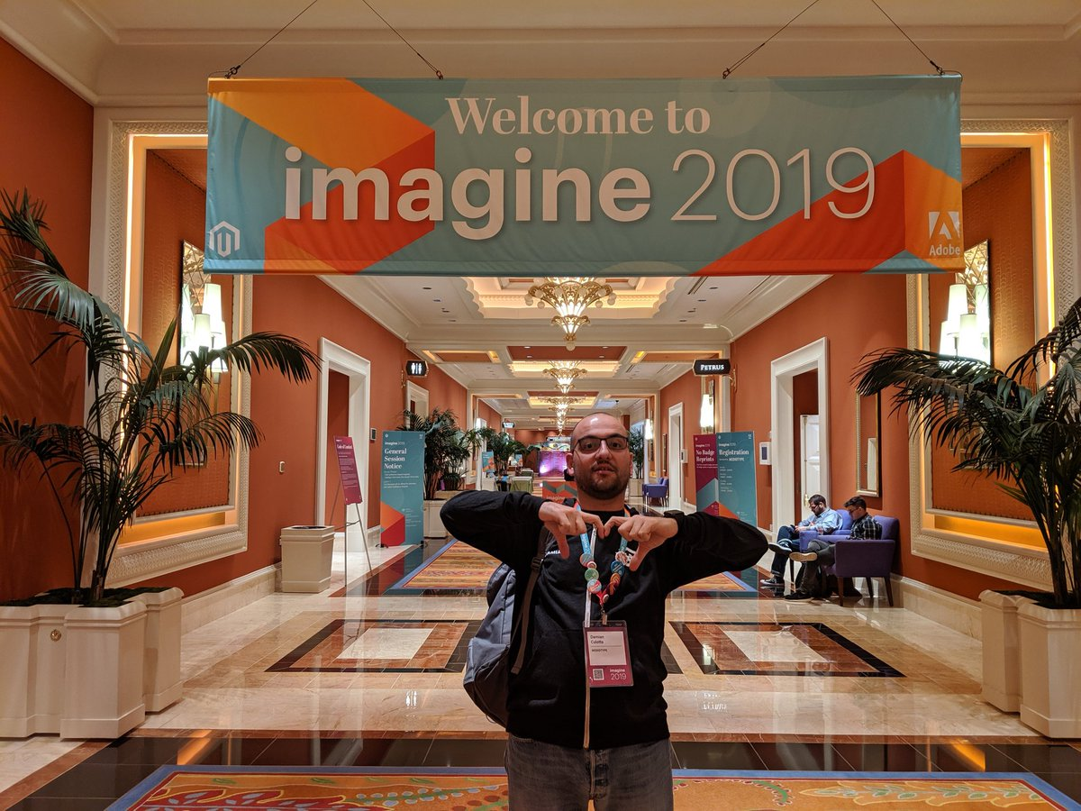 barbanet: #MagentoImagine 2019 is over. New friends, new stories. A terric experience.  #ExperienceTheCommunity https://t.co/6EpounjPt8