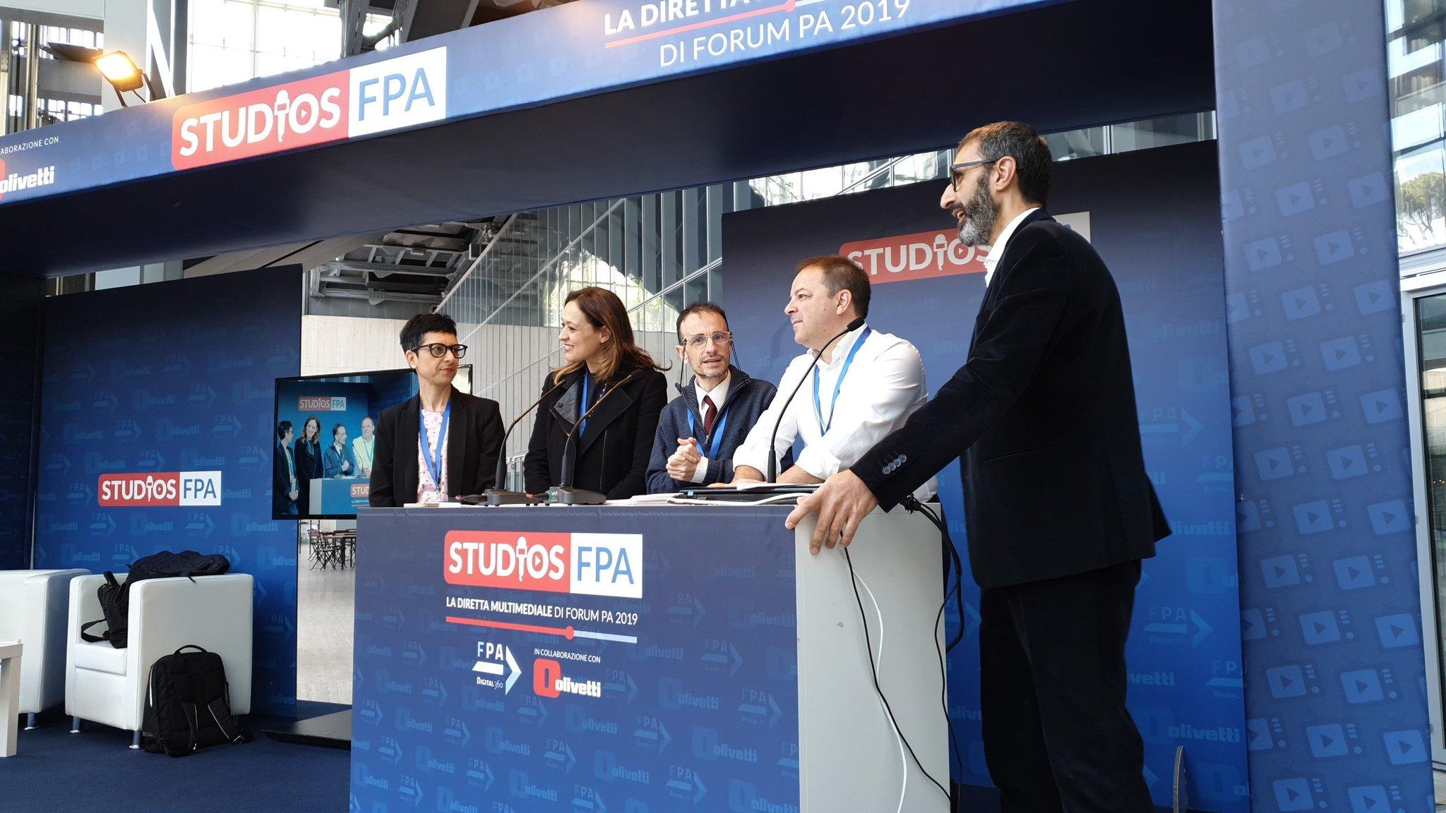 Tra poco Luca Attias in diretta dagli #StudiosFPA a #ForumPA2019 https://t.co/jbvOE1Lfhd