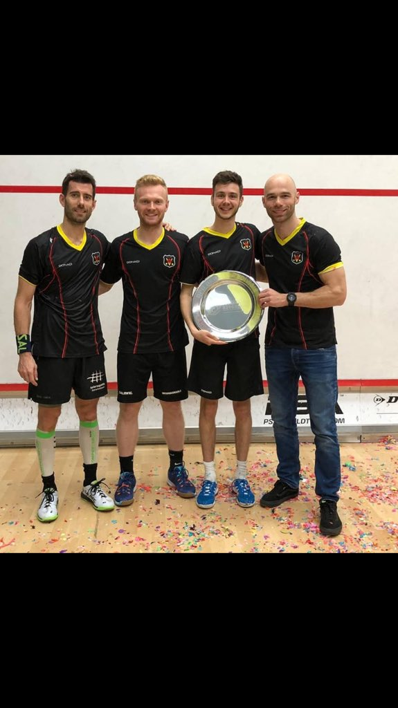 Champions of Dutch league with my team Victoria Róterdam!! Next stop 🇮🇹 league and British Open 🏴������. Vamos!! 💪👊 @EyeRackets @Salmingspain @centroamerguin @Savia_RRHH @Teleraqueta @compressport_es @RFESquash  #Snsfoods #actyontunnel @GaliciaCalidade @RFESquash @SquashSantiago https://t.co/s7WwqPVOns