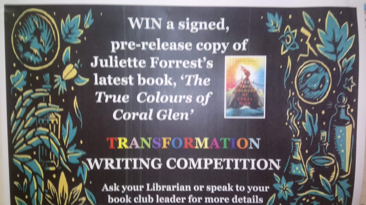 test Twitter Media - Competition alert: win copies of signed books for entering one of the below writing competition. See Mrs Leech for more details! https://t.co/yMxQqTPPqO