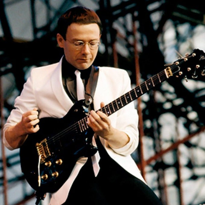 Happy Birthday to the small mobile unit, Robert Fripp