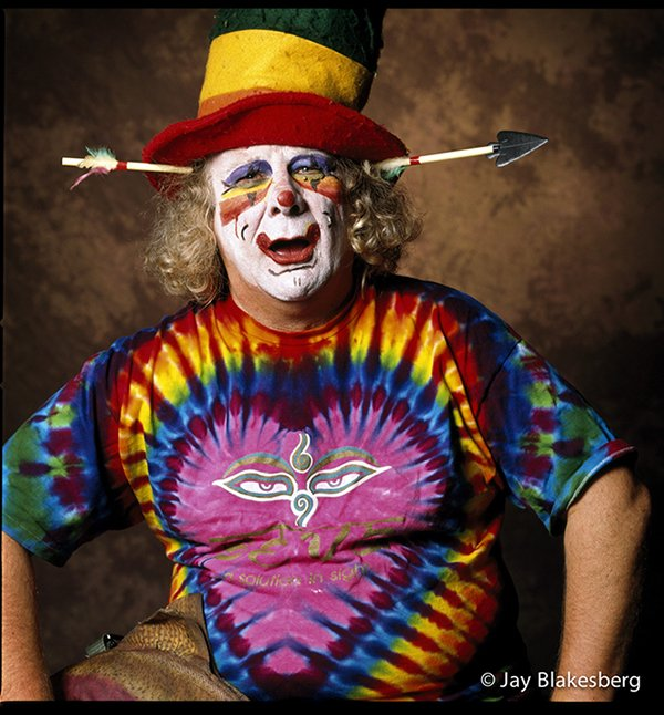 Happy birthday the only clown I\ve ever fucked with Wavy Gravy!
