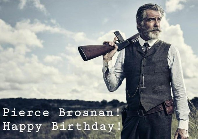 Happy birthday, Pierce Brosnan!