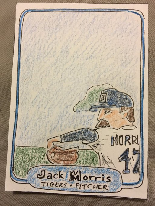 Happy Birthday Jack Morris. May you always pitch to the score and shut out the Braves in the playoffs.