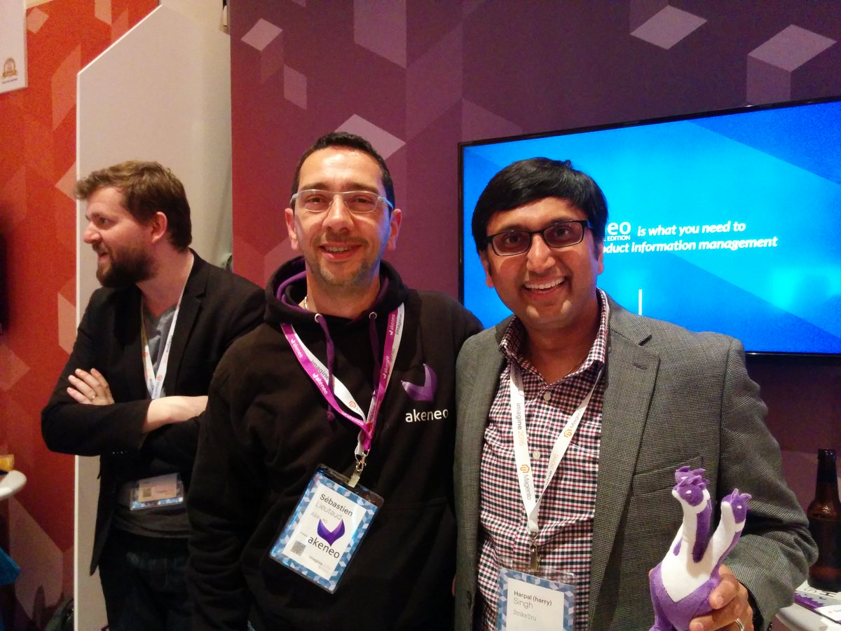 StrikeTru: #Throwback to the #MagentoImagine Conference back in 2016 with @akeneopim! nn#ThrowbackThursday #PIMexpert https://t.co/FTWYDticro