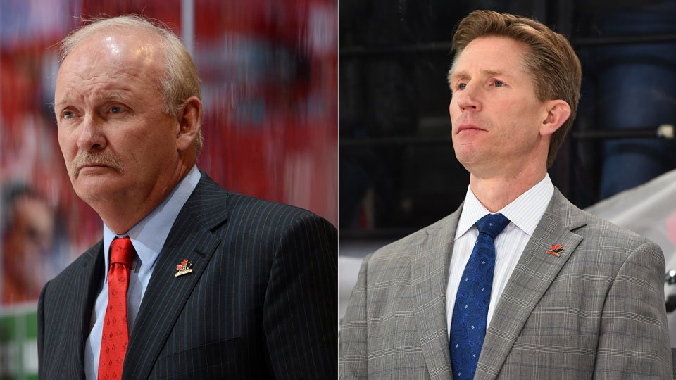 test Twitter Media - Both raised on the farms of small-town Alberta, now Dave Hakstol and Lindy Ruff are sharing the @HC_Men bench in Slovakia.  STORY ➡️ https://t.co/aM8pDrkVdm https://t.co/gWeFDRQrT0