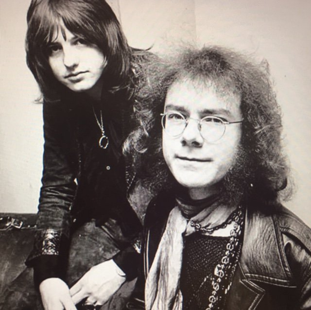 Wishing that guy on the right (Robert Fripp) a very happy 73rd birthday!!!