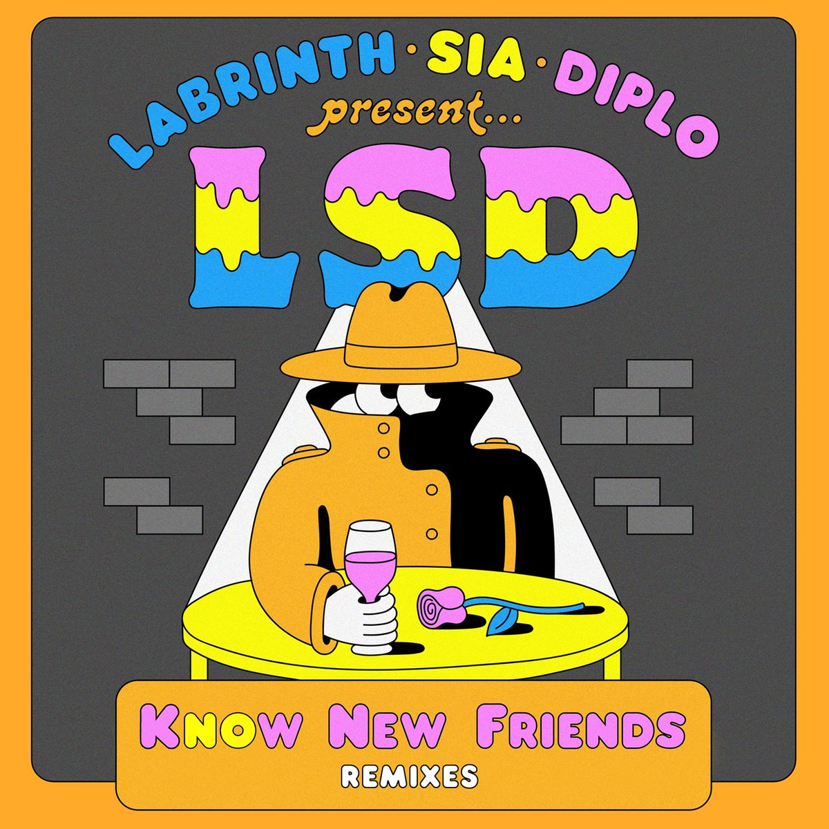 The dance party begins ???? #LSD Know New Friends remixes out now https://t.co/GYv1iJQer9 - Team Sia https://t.co/G5r9hCuPO2