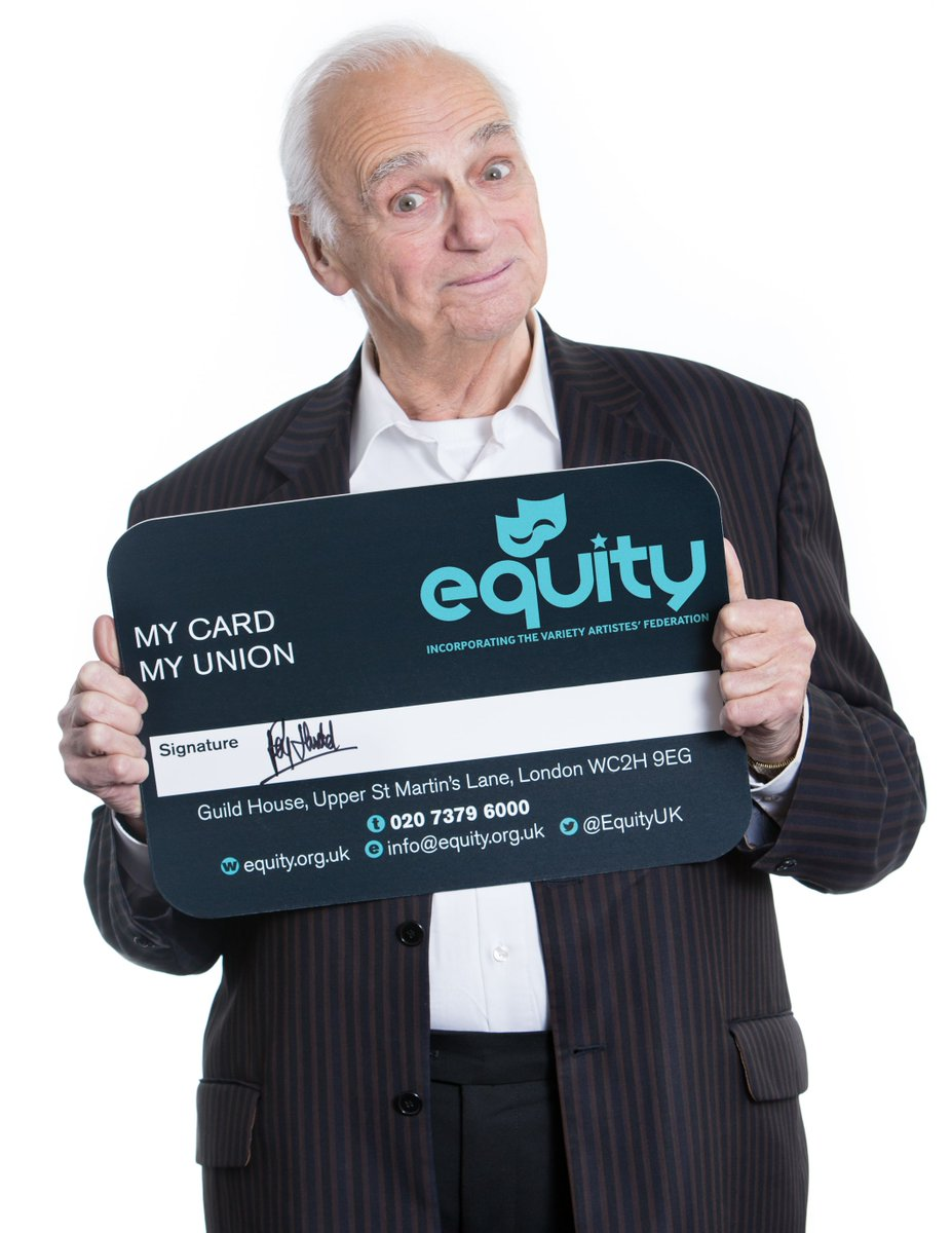 RT @EquityUK: Happy Birthday to our wonderful Trustee Roy Hudd. Thank you for being #ProudToBeEquity https://t.co/dfrUnRkle7