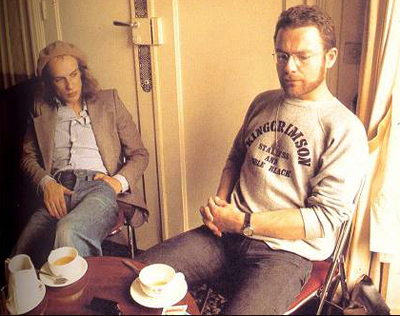 Happy birthday to Robert Fripp of King Crimson, born on this day in 1946.