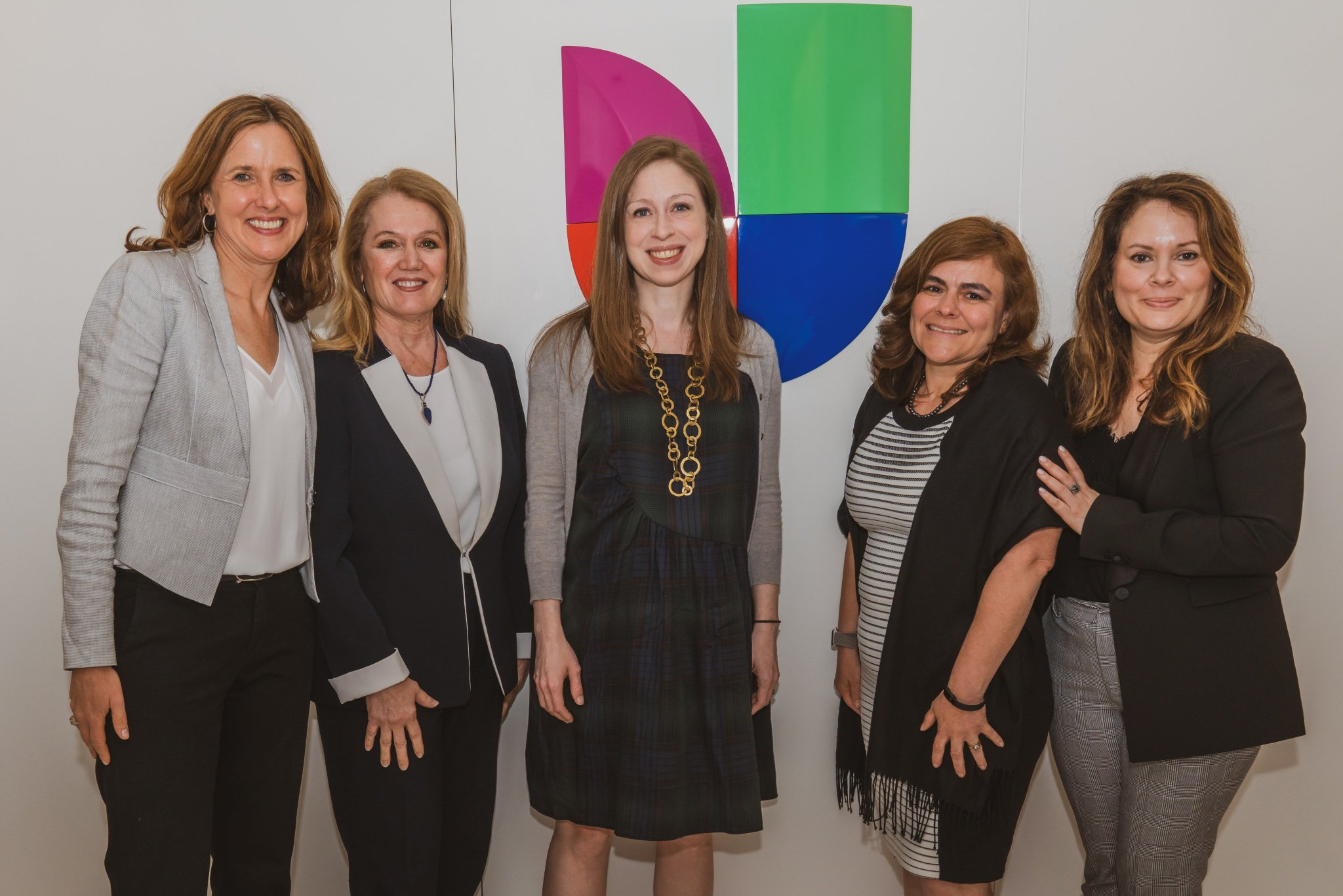 .@Univision hosted @ChelseaClinton @ClintonFdn to discuss the importance of early childhood education and why we need to help ensure #Hispanic households know how vital it is. https://t.co/7IqkSVK2SV
