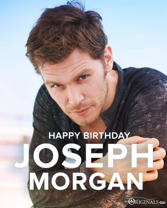 Happy Birthday Joseph Morgan famously known as Nick Klaus for the love of the originals