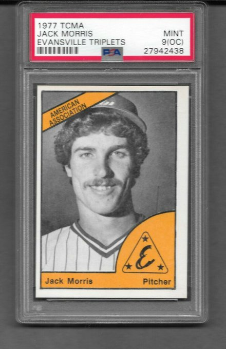 Happy 64th birthday to former Evansville Triplet Jack Morris.
