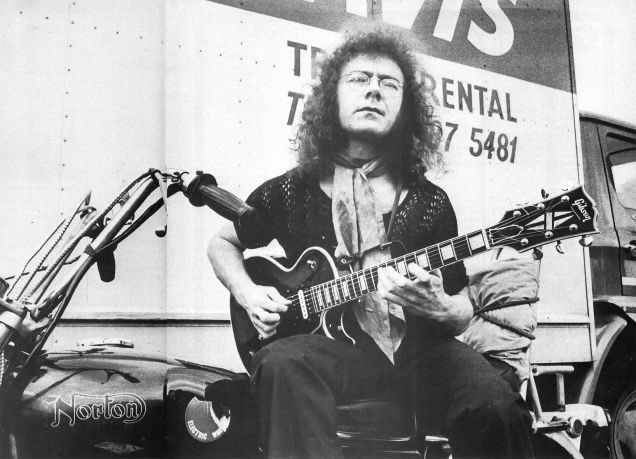 Happy Birthday to the master, Robert Fripp.