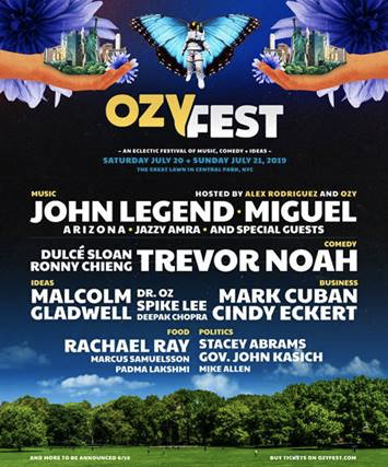 New York! Excited to perform at @OZYfest in July! 🙏🏽 Buy your tickets now: https://t.co/m5Wcicrrpr https://t.co/d37xRlknwu