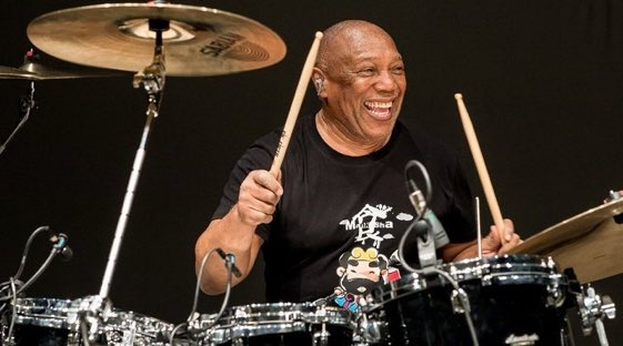 "Still ""The Man\"" at 75!  Happy Birthday, Billy Cobham!"