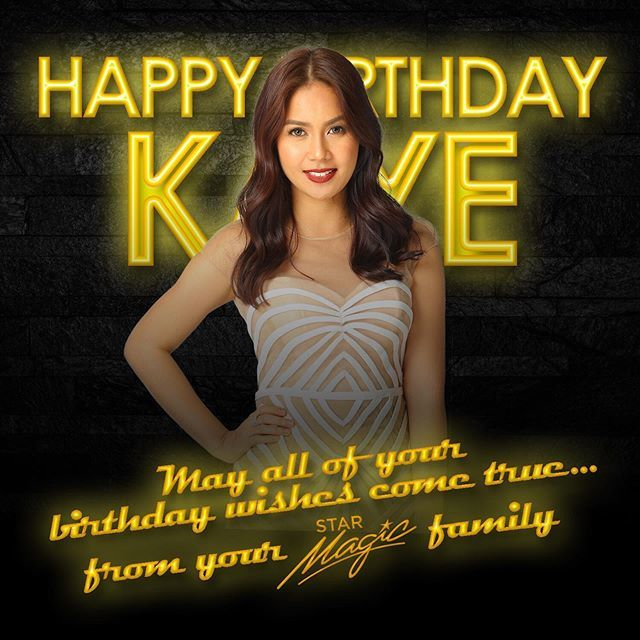 Happy Birthday from your Star Magic family!