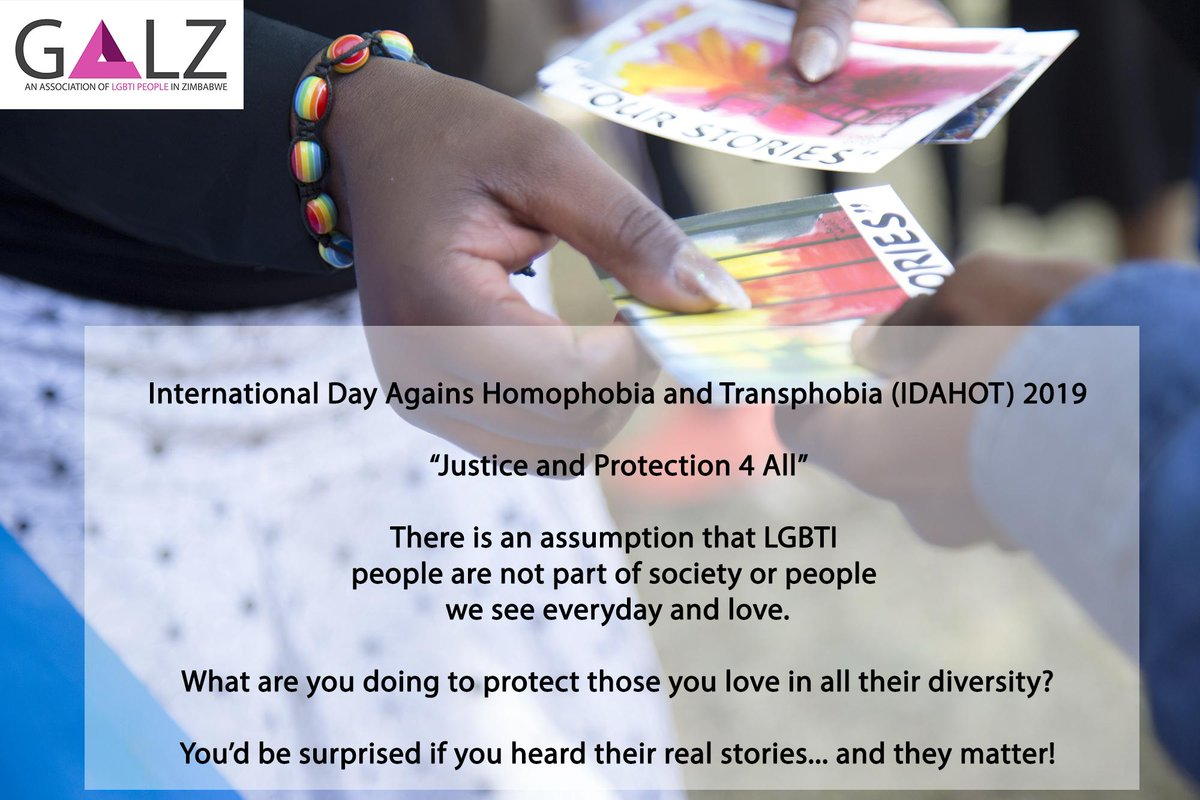 test Twitter Media - #IDAHOT2019 #LGBTILivesMatter #JusticeAndProtection4All #LGBTIStories @Pakasipiti @TIRZ7 @GUMISAYIBONZO @AgendaRawo https://t.co/F2G5cD4hmE