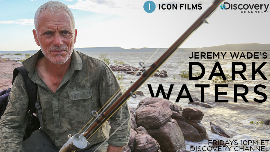 Jeremy Wade meets Jurassic Park on tonight's #DarkWaters. Tune in tonight at 10pm ET on the @Discovery channel to find out what jurassic beast is lurking in the ancient Tasmanian rainforest... https://t.co/toVRIgtJ5P