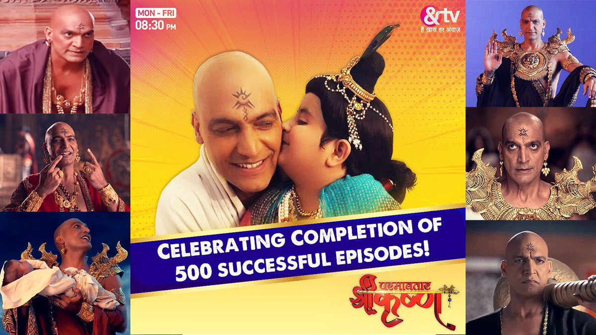 It has been quite an experience and a wonderful journey so far!   Wish that this ride goes on in my life.. My viewers get the maximum credit for this success! Keep your love coming as it keeps me going!  Stay blessed, lovely audience.  #ParamavtarShriKrishna #Actor #blessed #kans https://t.co/4W5zTqXa8r