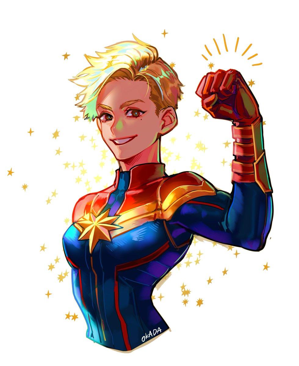 RT @HOOOOJICHA: love😊 #CaptainMarvel #キャプテンマーベル #AvengerEndgame #アベンジャーズ https://t.co/Sc0ZauIjFz
