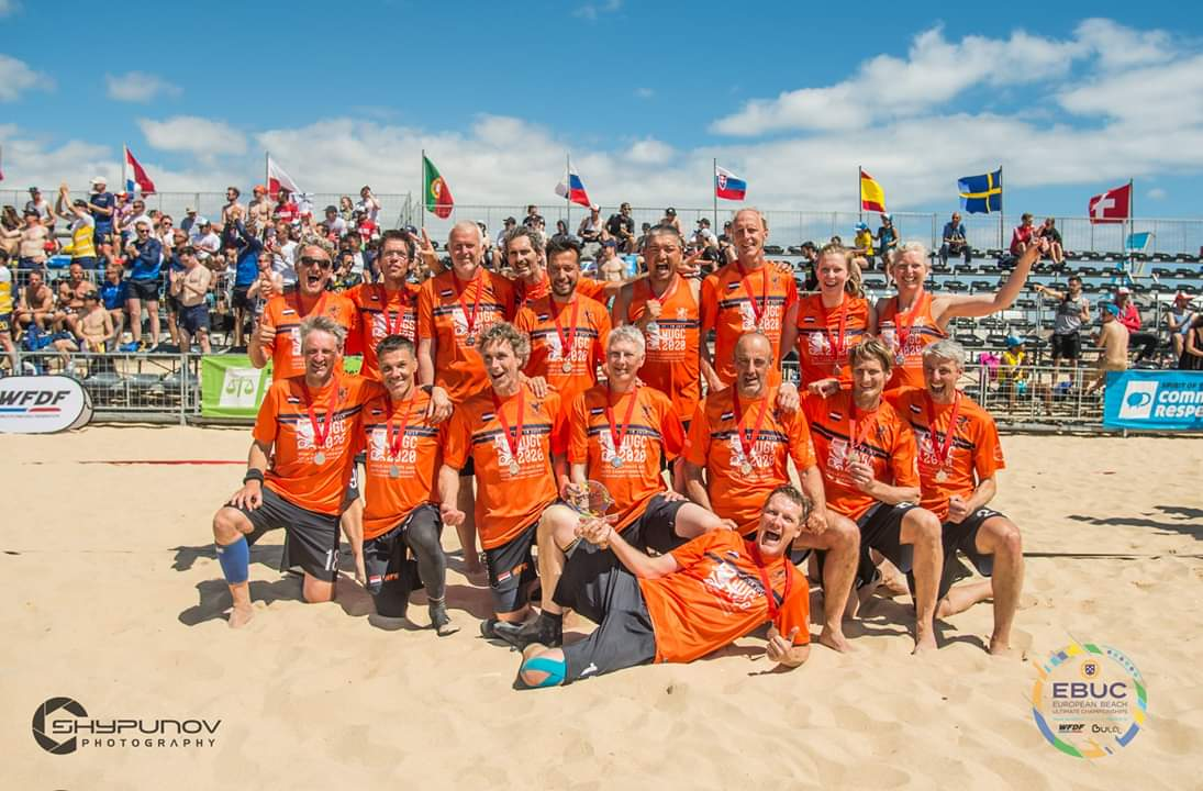 Silver at #ebuc2019 #NED #GGMM #ultimatefrisbee #beachultimate Proud of this amazing team! https://t.co/APpKsSreF7 <a href='https://twitter.com/jeroenoort/status/1129373873005318146/photo/1' target='_blank'>See original »</a>