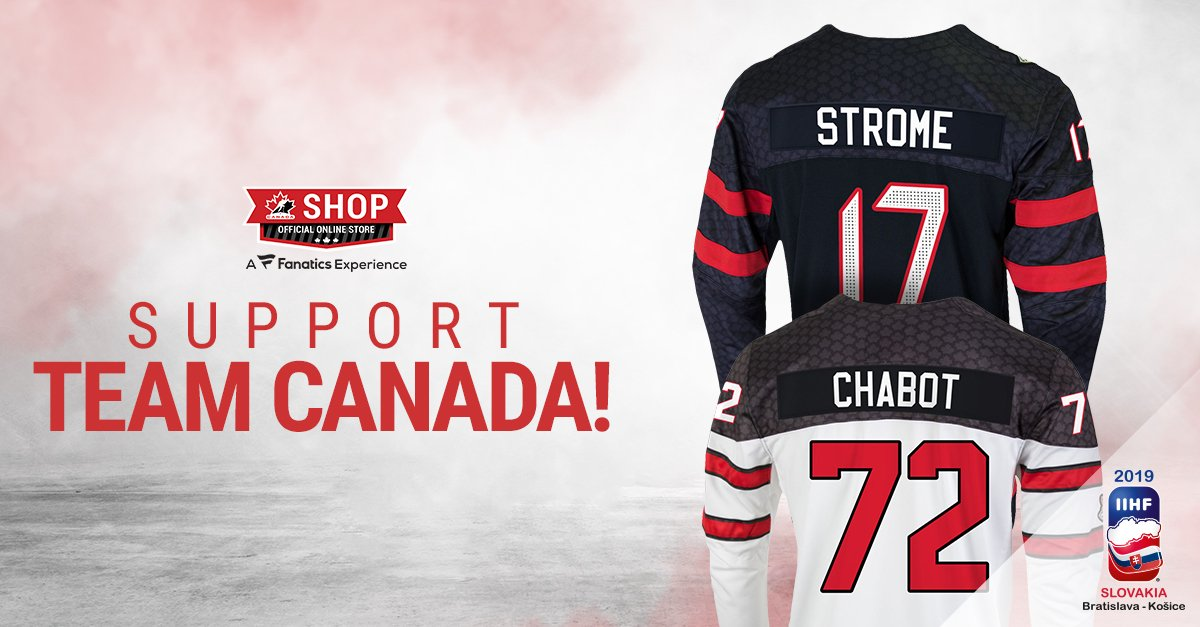 test Twitter Media - Represent 🇨🇦 in official licensed Team Canada gear! With FREE SHIPPING promotions running throughout #IIHFWorlds.   Authentic and customizable, only at https://t.co/Am5Pfu4s9U https://t.co/KIgdXdLDXS