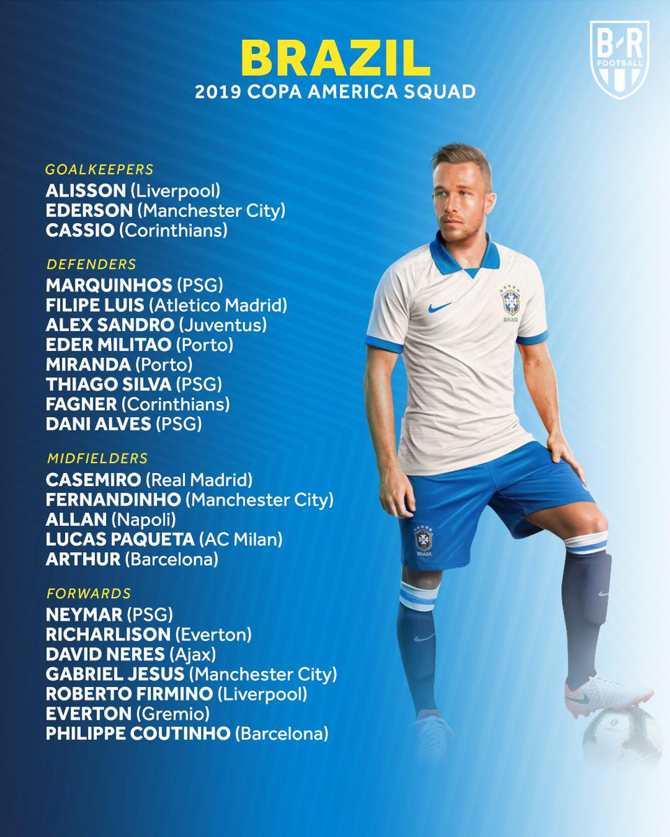 Lucas Moura And Wife: Flipboard: Brazil Announce Their Copa América Squad, Some