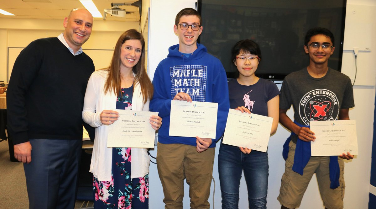 test Twitter Media - Board of Education recognizes and honors dedicated M, W, and WB PTO Co-Presidents and MathCounts Competition Team w/ Coach S. Arends, during a meeting on May 16. #d30learns https://t.co/99HumbvRnf https://t.co/cNFWbnTVc1