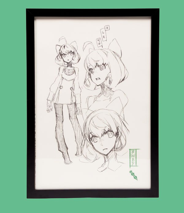 test Twitter Media - #RWBY Sketchbook: Penny Polendina  Grab one of the 500 Limited Edition Prints here: ttps://store.roosterteeth.com/products/rwby-limited-edition-penny-polendina-sketch-page-print https://t.co/GcoGKiIphM
