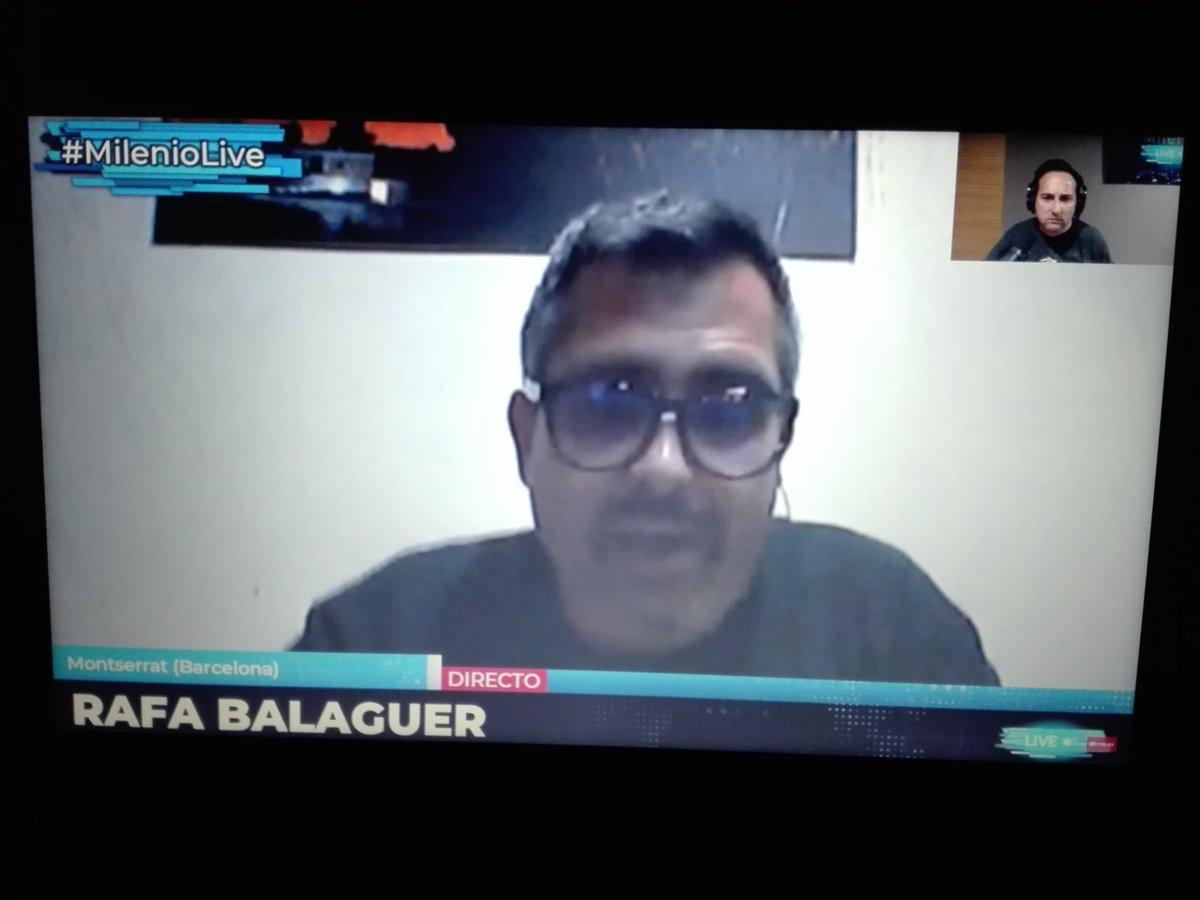 RT @Pedro_TGZ: La cara desencajada de Rafa contando el suceso dice mucho del momento que pasó. #MilenioLive https://t.co/ISPBMRFi4c
