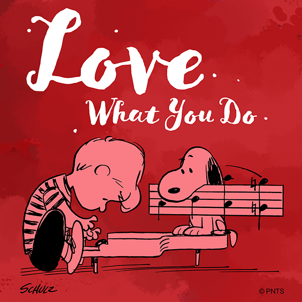 RT @Snoopy: Find something you love to do. https://t.co/3HjZ04macH