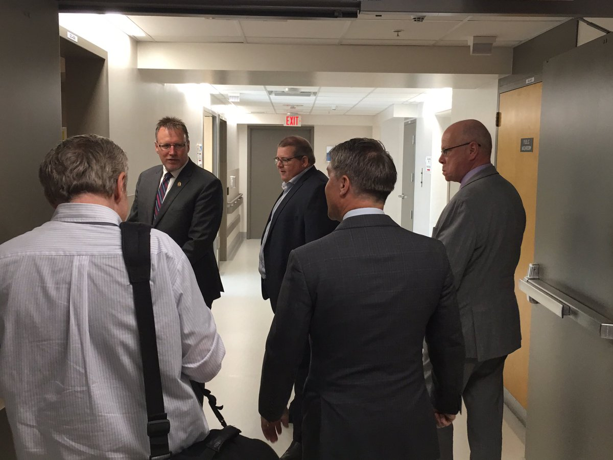 test Twitter Media - Throwback to yesterday, when I received a tour of Brandon Regional Health Centre's new medical unit. Nearly $17M in renovations have been performed at the facility since 2016, including a new pediatric unit and a reimagined medical unit that adds 12 new beds. #mbpoli https://t.co/gaBKcKO5n7