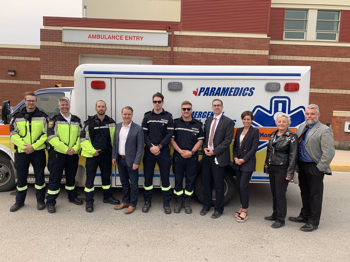 test Twitter Media - Health care begins the moment a paramedic arrives at your door. That's why we're bolstering EMS care with 25 additional positions — 12 for the southern region and 13 for the north. Since 2016, we've now added 149 positions! https://t.co/xoQYFvzZby #mbpoli https://t.co/lW5E7tzLh7