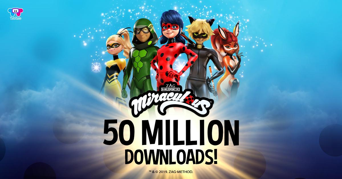 test Twitter Media - A double celebration for the beloved #MiraculousLadybug and Cat Noir with a 1 year anniversary - and crossing #50MILLION DOWNLOADS! https://t.co/g1RSn8i7a9  @BeMiraculousLB https://t.co/4wUQbdVfXX