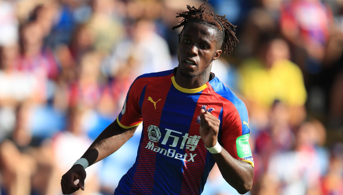 Wilfried Zaha when asked which team he supported as a child.