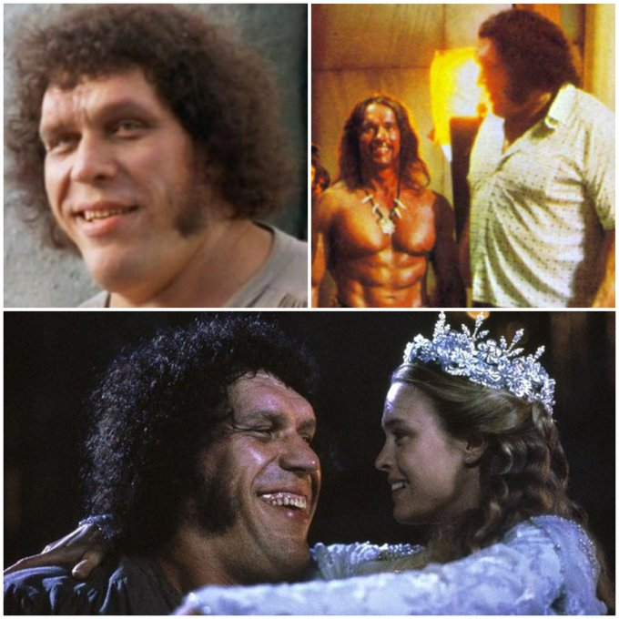Happy Birthday To Andre The Giant would have been 73 today