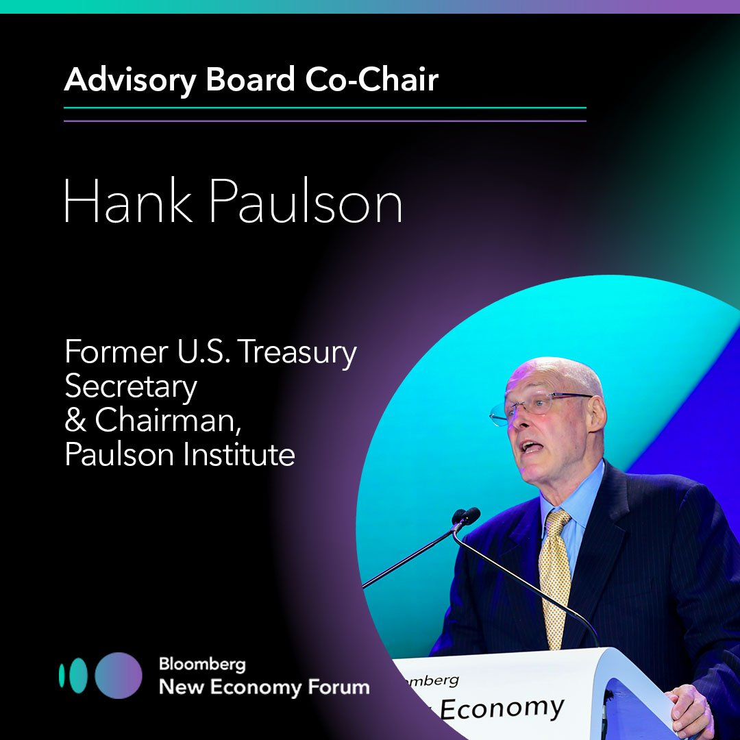 test Twitter Media - Hank Paulson is proud to join as an Advisory Board Co-Chair of #NewEconForum this November in Beijing, standing with leaders focused on forging a path toward a thriving, inclusive global economy. https://t.co/AmJTXH7QsY https://t.co/9UZI6LOACG