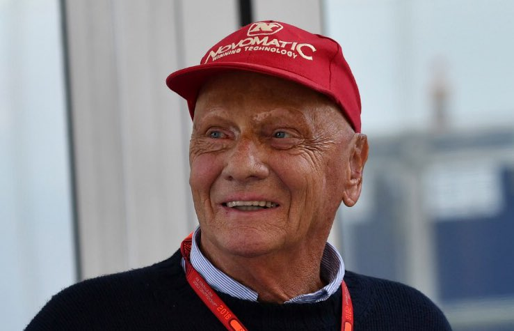 RT @HaasF1Team: Remembering an icon of our sport. Thanks Niki for all you did for Formula 1.  Rest in Peace. https://t.co/MOijnShrNy