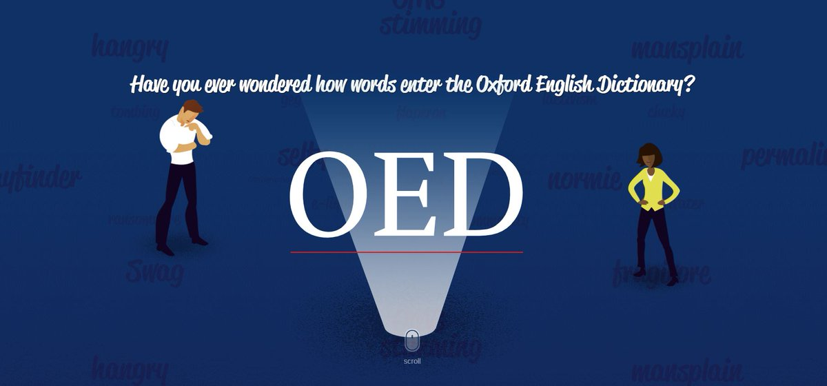 test Twitter Media - Have you ever wondered how new words are entered into the Oxford English Dictionary?  Take a look at our scrollable interactive feature, in the link below, to find out:  https://t.co/74JIbl3V7f https://t.co/qc8U5YjcQG
