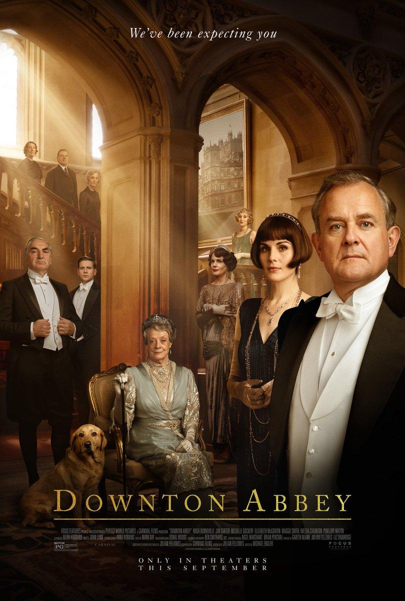 RT @britculturejp: 英国で9月20日より公開される、映画『ダウントン・アビー』の予告編映像が公開! 視聴は👉...