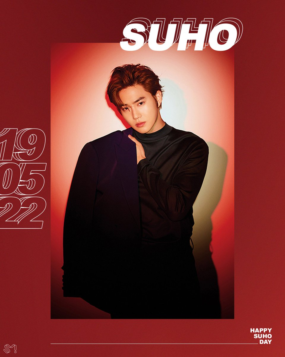RT @weareoneEXO: #HappySUHODay 🎂🎉  #190522 #EXO #엑소 #SUHO #수호 https://t.co/1lJiOlZ2v5