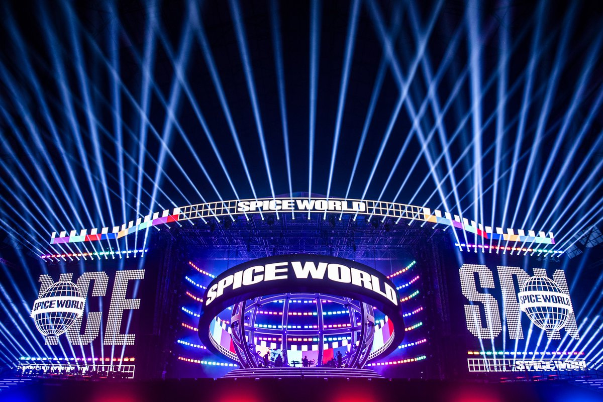 Spice World production rehearsals done! Roll on Friday ✌️????❤️ #SpiceWorld2019 @spicegirls https://t.co/P8PHYjHYHE