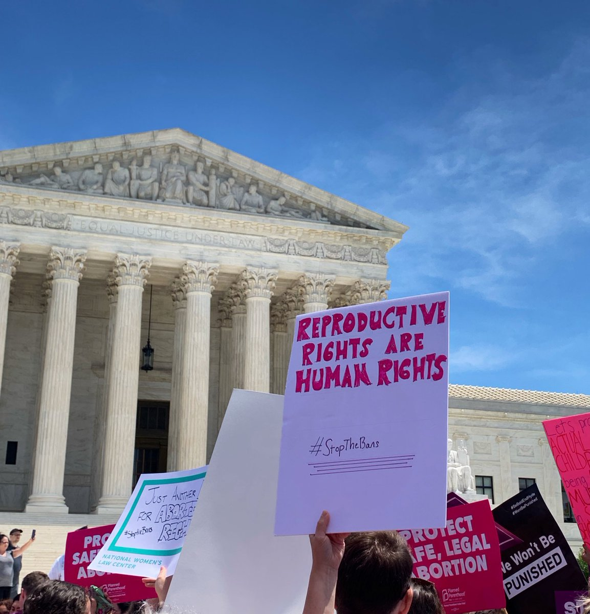 RT @ACLU: ???? Saying this louder for the people in the back: REPRODUCTIVE RIGHTS ARE HUMAN RIGHTS #StopTheBans https://t.co/uW1NxetWtK