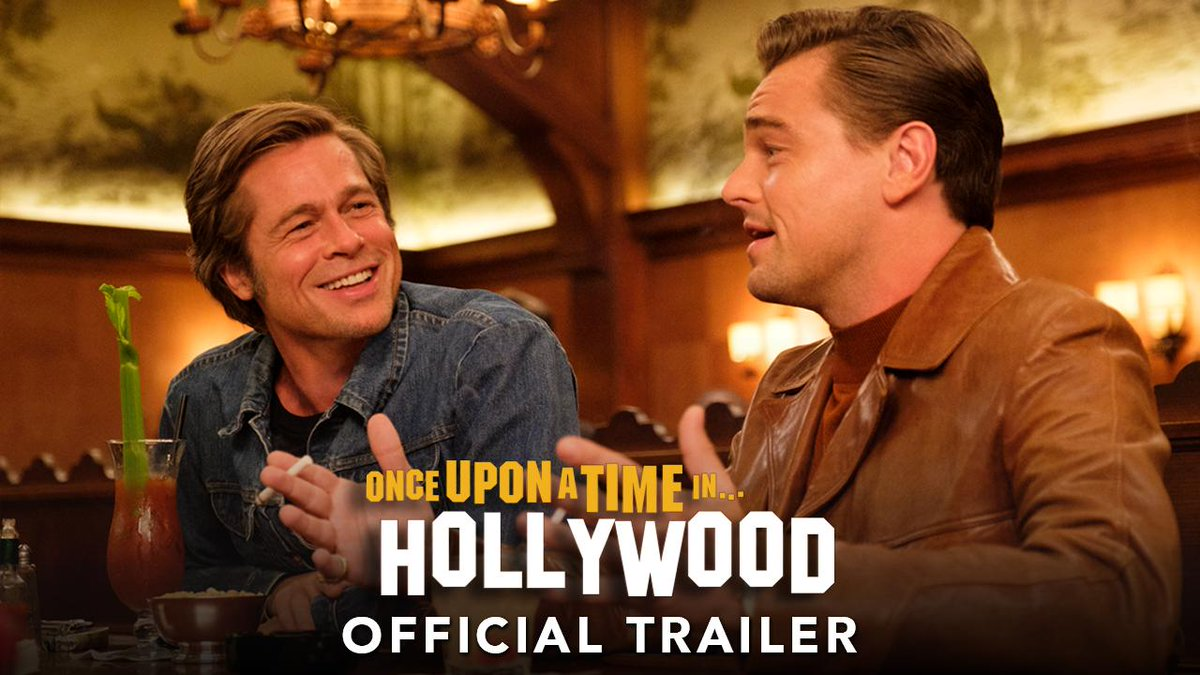 In this town, it can all change…like that! Watch the new #OnceUponATimeInHollywood trailer. In theaters July 26. https://t.co/EmD7cX8hea