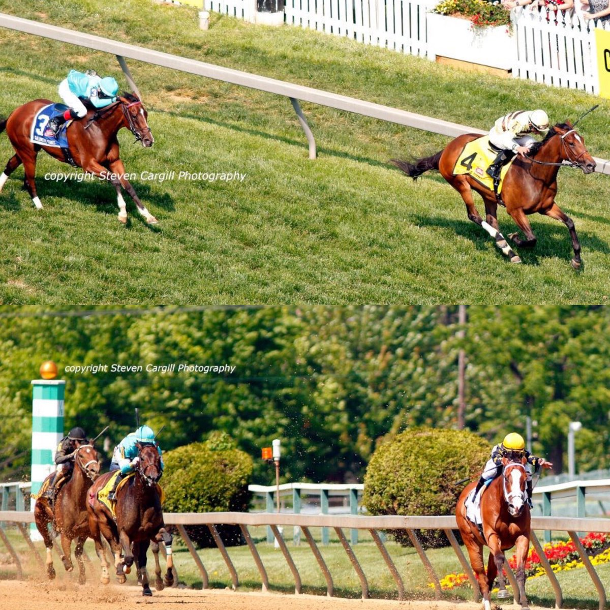 """test Twitter Media - PLEASE FLATTER ME (bottom) ran a lifetime top (8- @RagozinSheets) and got beat a pole. 👀 Covfefe @LNJFoxwoods @bradcoxracing. Was a weekend of seconds (👰 maids) until Catholic Boy. The prayer worked and """"ITS CONFIRMED, HE'S BACK!"""" @larrycollmus with the genius call again!!!🤣 https://t.co/pQzl04E9dB"""